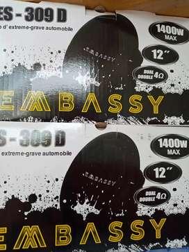 Subwoofer embassy badak ES 309D
