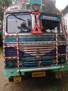 12 tyre Ashok Leyland commercial truck(1750000)final rate