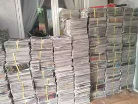 Koran bekas bisa buat pengecatan