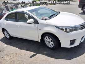 Toyota Corolla GLI 2015 Get on very easy monthly installments
