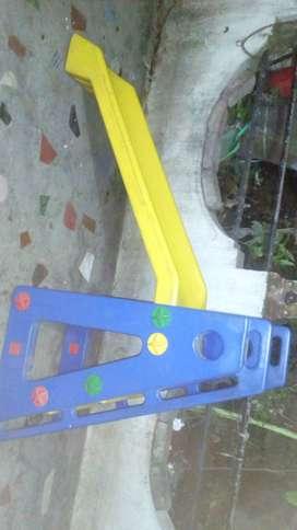 Children slide made of good quality plastic for pre schools