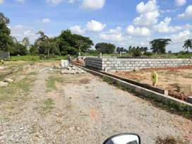 Dream DC approved villa plot at Attibele at just 8lakhs