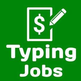 Easy work kasur worker need for online typing home base job