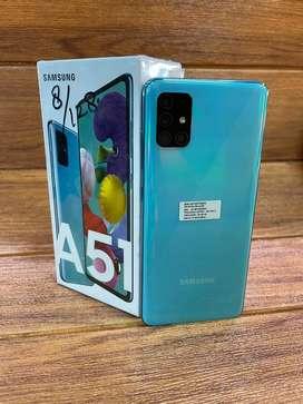 Samsung A51 biru 8/128 garansi resmi sein Nov 2021- second mulus