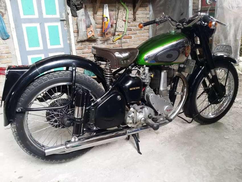 Motor antik Bsa 0