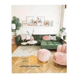 Sofa custom sudut