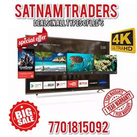 [ 2 Years Warranty ] 42 Inches Ultra Slim Led Tv With Onsite Warranty