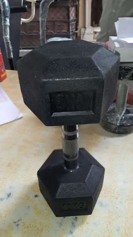 All kinds of gym equipment available