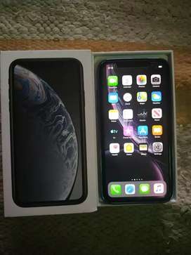 Apple Iphone XR 64GB 3MONTH OLD BLACK COLOUR Good condiction