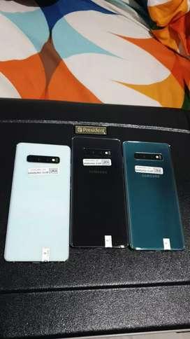 Samsung Galaxy S10 Plus Singel Sim RAM 8GB Memori 128GB Ori