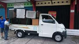 Jasa pindahan sewa losbak & truk engkel CDE mobil pick up bak terbuka