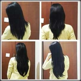 Hairclip / rambut sambung / rambut palsu / wig