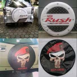 Cover/Sarung Ban Ford Ecosport/Rush/Terios/Taft/Kuda ModisAbis Desain
