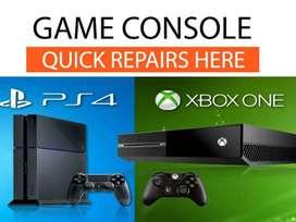 Gaming console playstation xbox repairs
