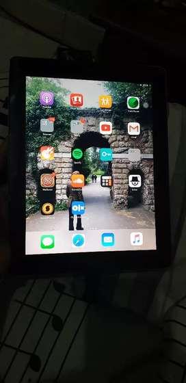 Ipad 4 32gb wifi cell 4g warna hitam fullset