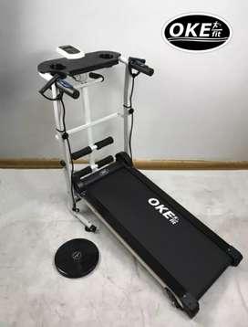 Terbaru treadmill manual 4 fungsi OKE