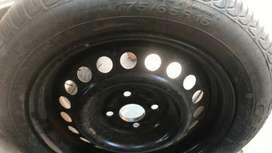 New tyre & Rim
