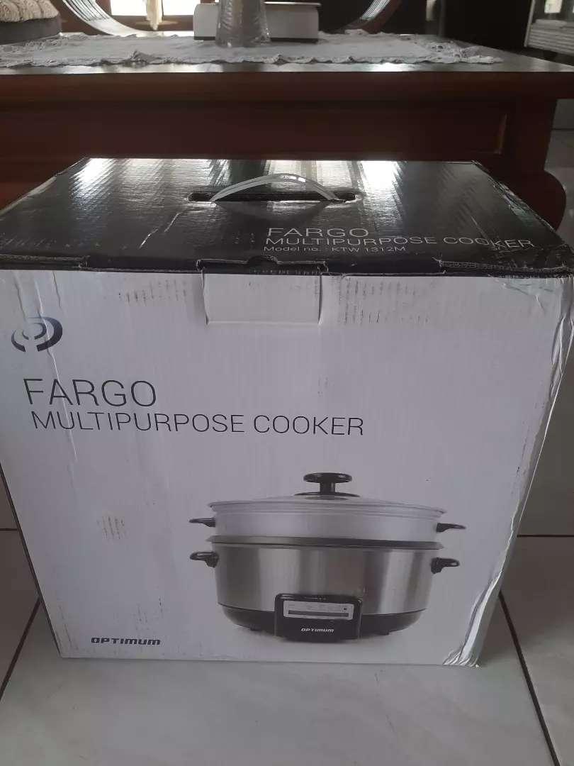 Jual cepat Fargo Multipurpose Cooker. Gratis ongkir seluruh Indonesia. 0
