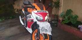 Repsol CBR 150 (Nego ampe jadi)
