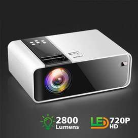ThundeaL HD Mini Projector TD90 Native 1280 x 720P LED Android WiFi Pr