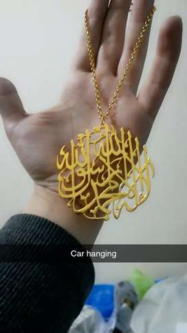 Car Hanging 24k Gold plated