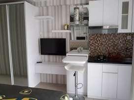 Studio furnished lengkap Bassura City siap huni