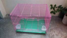 New cage for birds