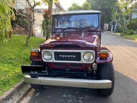 Hardtop Land Cruiser Toyota 1981 mulus