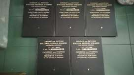 Set buku Lukisan dan Patung Koleksi Soekarno set full 5 jilid
