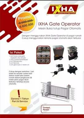 Autogate / mesin pagar otomatis murah garansi 1 tahun