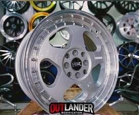 Pelek mobil Xenia ring 17 tipe Lous warna silver