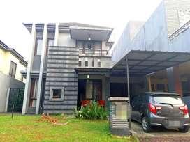 Rumah 2 lantai full furnished di kota wisata cibubur