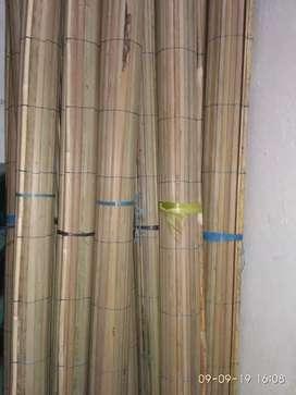 Jual Tirai Kulit, Tirai isi, tikar rotan, Rotan dan isi Bambu