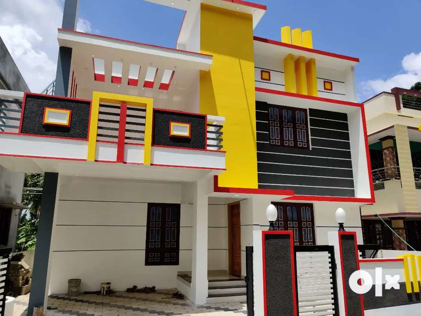 Contemporary villa residential area 0