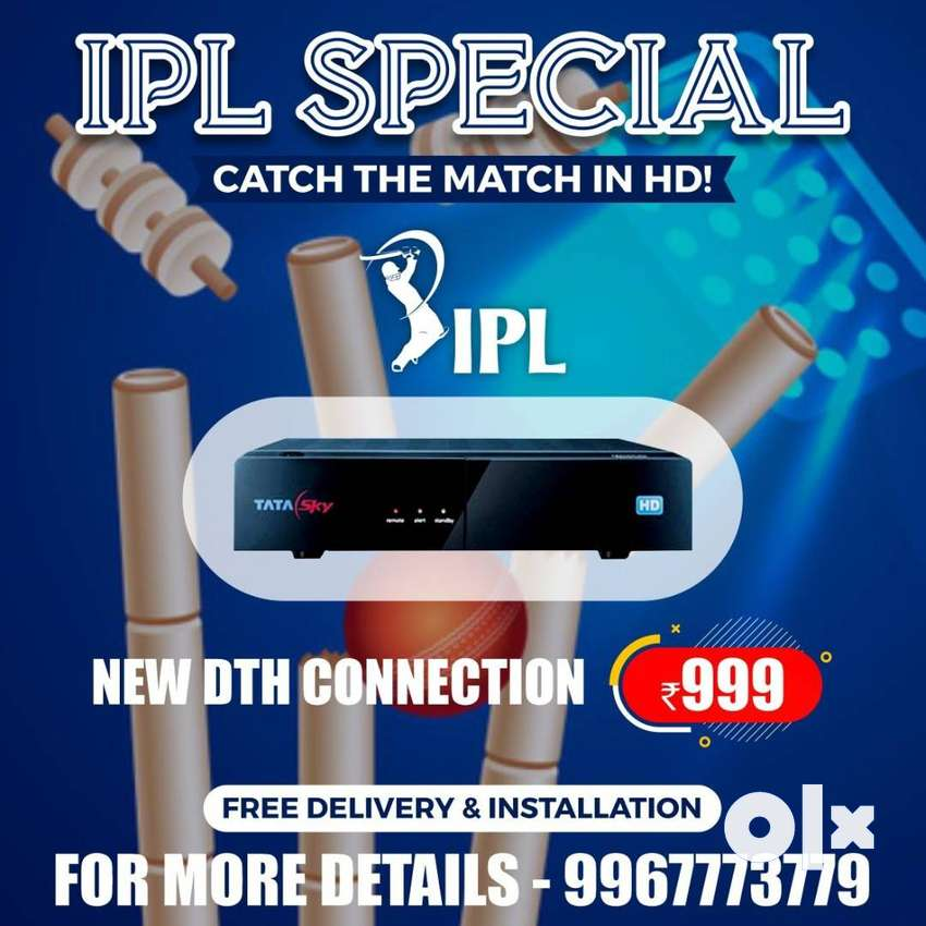 AIRTEL ,TATA SKY and DISH all HD DTH Connection Same Day Delivery 0