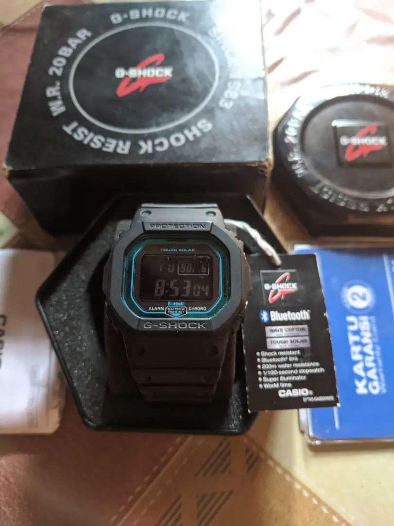 Casio G-Shock GW B5600 2DR Fullset Garansi 0