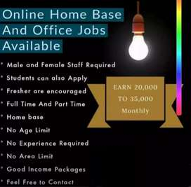 Job vacancies for lahore (full time) part time and home base