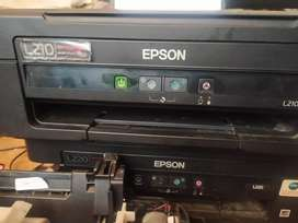 Printer Epson L210 scan copy