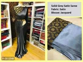 Stylish beautiful sation saree