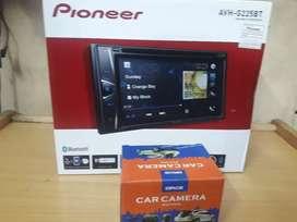 Hu pioneer G225 bt  plus kamera uda ama pasang