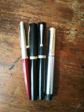 Sheaffer and Parker 45 Ink pens