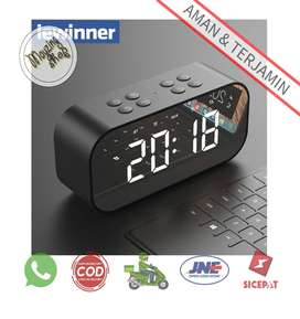 Lewinner 501 Jam Alarm Clock Bluetooth Speaker