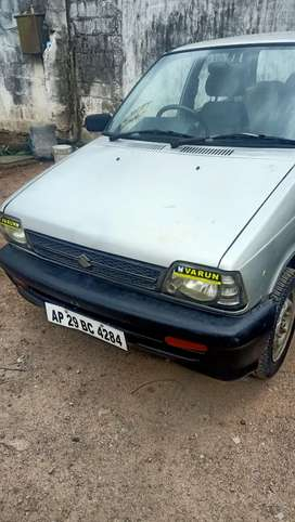 Maruti Suzuki 800 2007 Petrol Well Maintained excellent condition