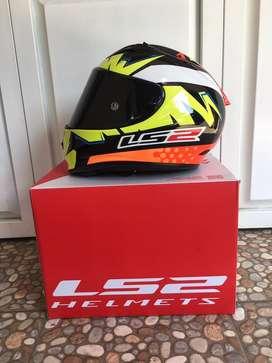 Helm LS2 FF322 Evo Isaac Vinales Second