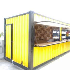 Container, booth container, container office