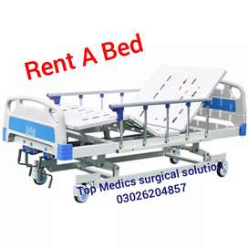 Manual patient Bed Excellent quality 2 function & Electric Bed