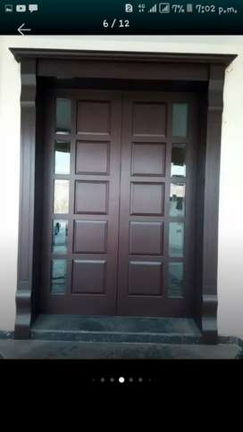 Pure wood doors are making on your order