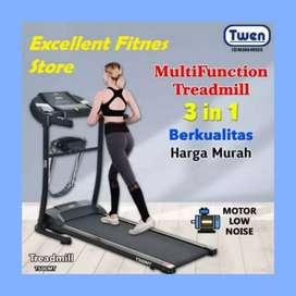 treadmill elektrik twen TM -740 II sepeda statis