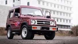 Suzuki katana 1995 merah bandung