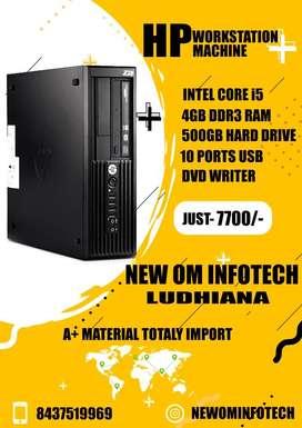 HP i5 PC/4GB RAM/500GB HDD/ 1 YEAR WARRANTY/CALL NOW